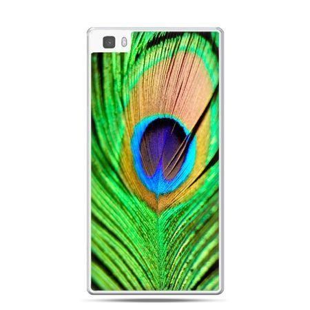 Huawei P8 etui pawie oko