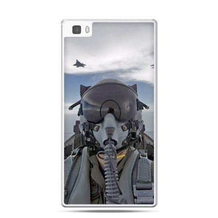 Huawei P8 etui pilot myśliwca