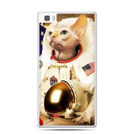 Huawei P8 etui kot astronauta