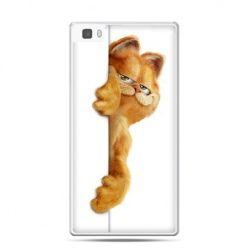 Huawei P8 etui Kot Garfield