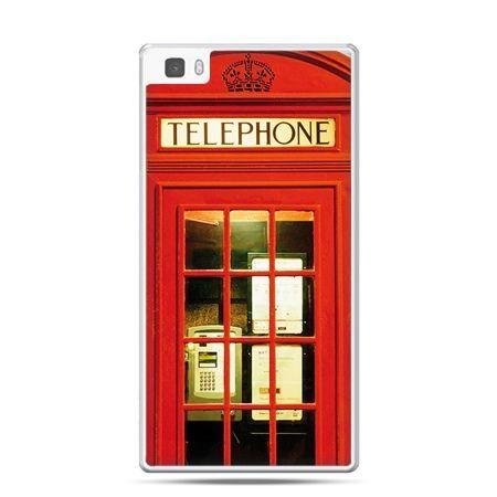 Huawei P8 etui czerwona budka telefoniczna