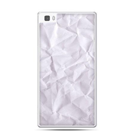 Huawei P8 etui pomięty papier
