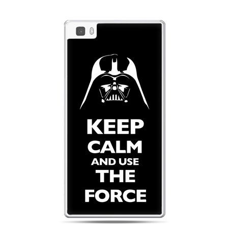 Huawei P8 etui Keep calm and use the force
