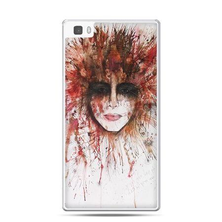 Huawei P8 etui tajemnicza twarz