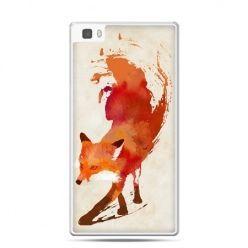 Huawei P8 etui lis watercolor
