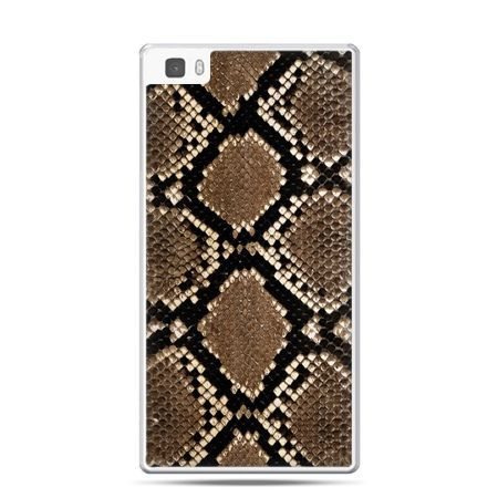 Huawei P8 etui skóra węża