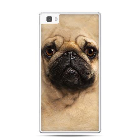 Huawei P8 etui pies szczeniak Face 3d