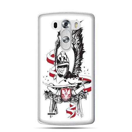 Etui na telefon LG G4 patriotyczne - husarz