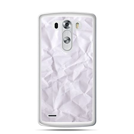 LG G4 etui pomięty papier