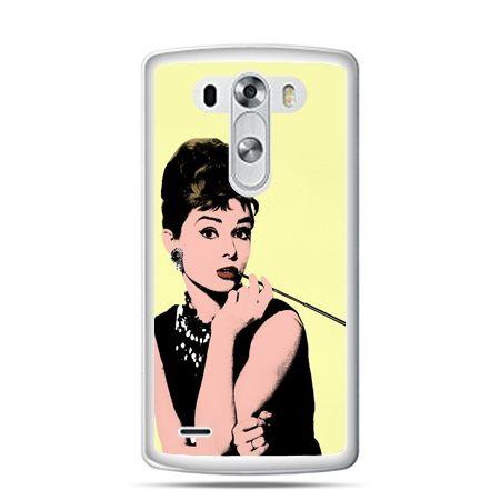 LG G4 etui Audrey Hepburn z papierosem