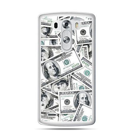 LG G4 etui dolary banknoty