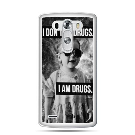 LG G4 etui I don`t do drugs I am drugs