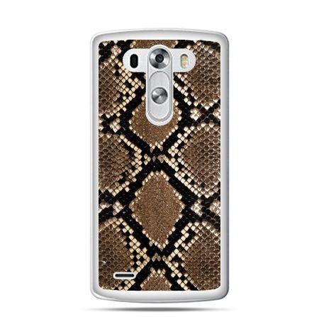 LG G4 etui skóra węża