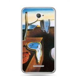 Xperia E4 etui zegary S.Dali