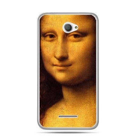 Xperia E4 etui Mona Lisa Da Vinci