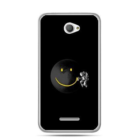 Xperia E4 etui uśmiechnięta planeta