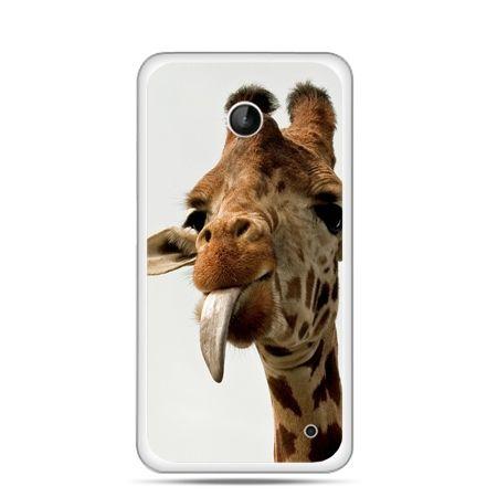 Nokia Lumia 630 etui żyrafa z językiem