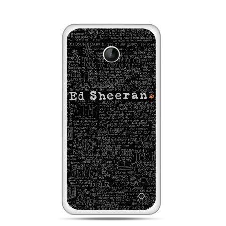 Nokia Lumia 630 etui ED Sheeran czarne poziome