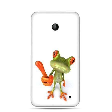 Nokia Lumia 630 etui śmiesznaq żaba