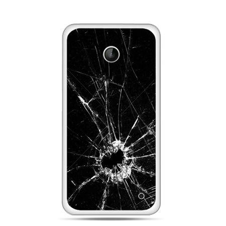 Nokia Lumia 630 etui rozbita szyba