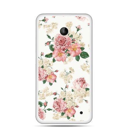 Nokia Lumia 630 etui polne kwiaty
