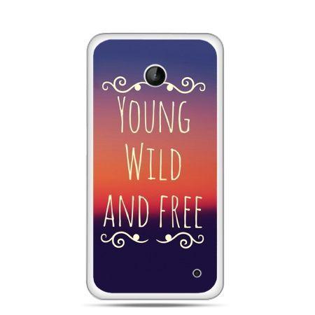 Nokia Lumia 630 etui Young wild and free