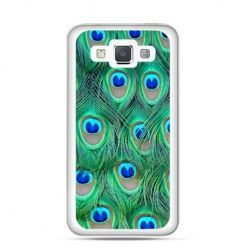 Etui na Galaxy A5 Pawie pióra