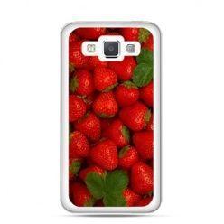 Etui na Galaxy A5 Czerwone truskawki