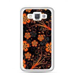 Etui na Galaxy A5 Nocne kwiaty