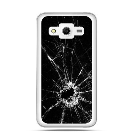Etui na Galaxy Core 2 Rozbita szyba