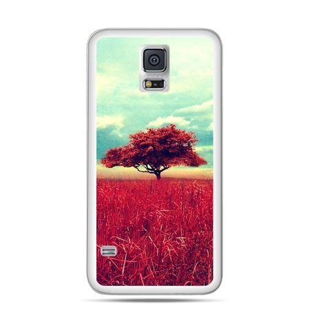 Samsung Galaxy S5 mini Czerwone drzewo
