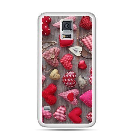 Samsung Galaxy S5 mini Pluszowe serduszka