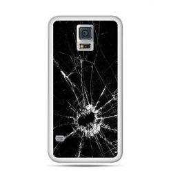 Etui na Samsung Galaxy S5 mini Rozbita szyba