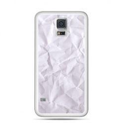 Etui na Samsung Galaxy S5 mini pomięty papier