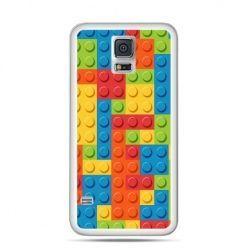 Etui na Samsung Galaxy S5 mini kolorowe klocki