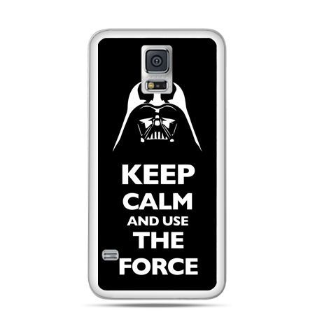 Etui na Samsung Galaxy S5 mini Keep calm and use the force