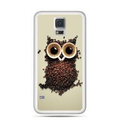 Etui na Samsung Galaxy S5 mini Kawa sowa