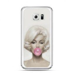 Etui na Galaxy S6 Monroe z gumą balomową