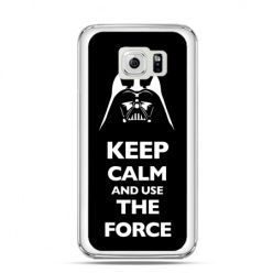 Etui na Galaxy S6 Edge Keep calm and use the force