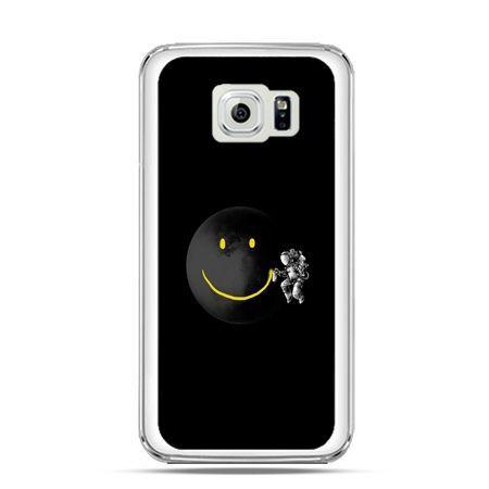 Etui na Galaxy S6 Edge Uśmiechnięta planeta