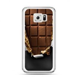 Etui na Galaxy S6 Edge Czekolada