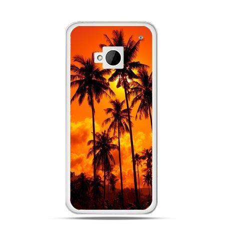 Etui na HTC One M7 Palmy nocą