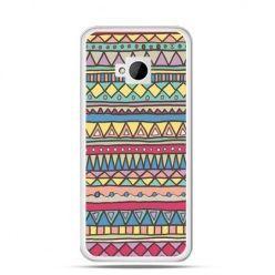 Etui na HTC One M7 Azteckie wzory