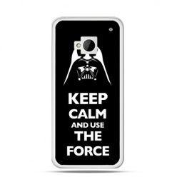 Etui na HTC One M7 Keep calm and use the force