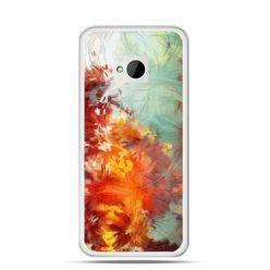 Etui na HTC One M7 Kolorowy obraz