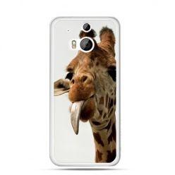 Etui na HTC One M8 żyrafa z językiem