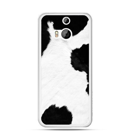 Etui na HTC One M8 łaciata krowa
