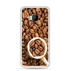 Etui na HTC One M9 kubek z kawą