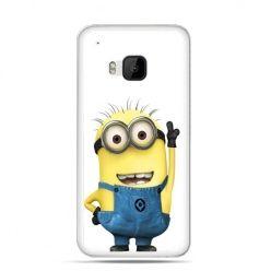 Etui na HTC One M9 Wesoły minionek ,minionki