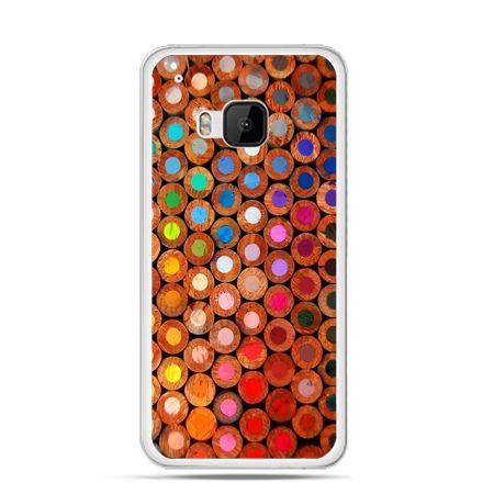 Etui na HTC One M9 Kolorowe kredki